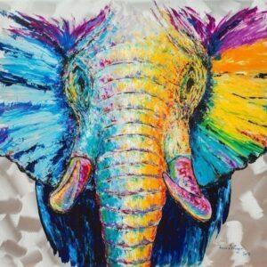 Frank Krüger - Elefant Adisa