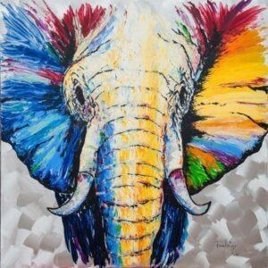 Frank Krüger - Elefant Abiola