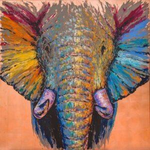 Frank Krüger - Elefant Amidou