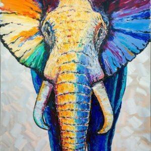 Frank Krüger - Elefant Badu