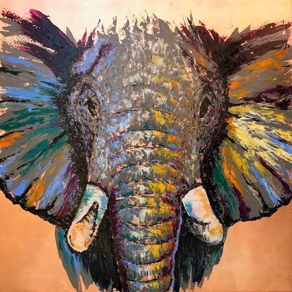 Frank Krueger - Elefant Amaru