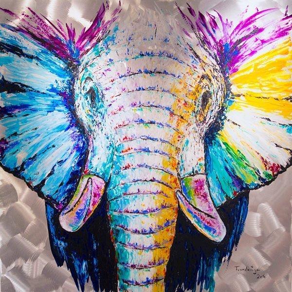 Frank Krueger - Elefant Mufaro