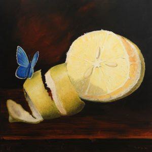 Frank Krüger - Limon con Mariposa