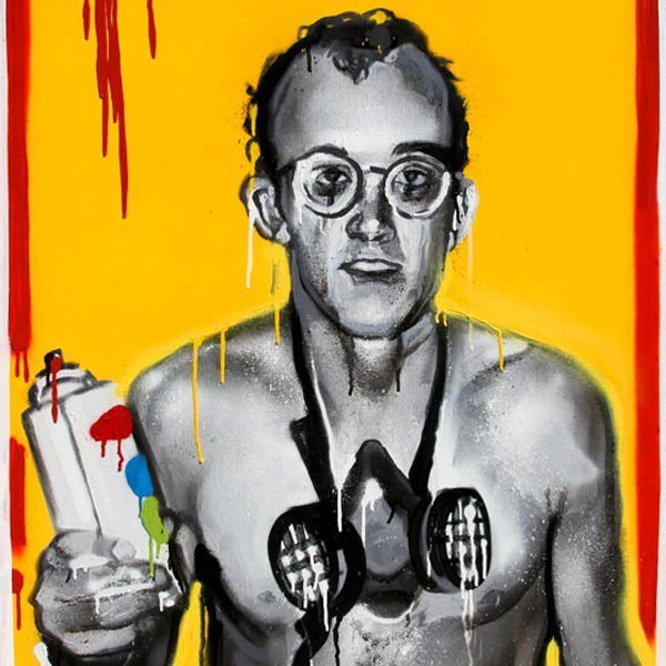 Legends never die, Keith Haring