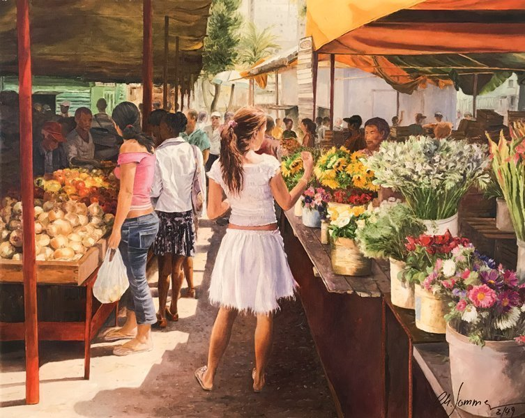 Markttag in Habanna