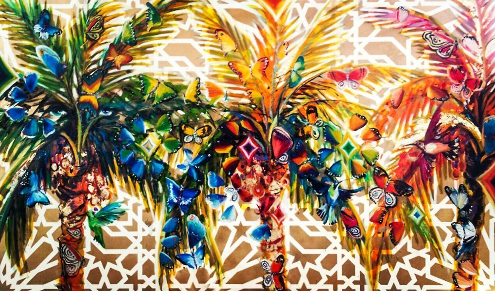 Arabesque palms