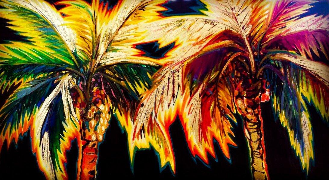 Disco palms