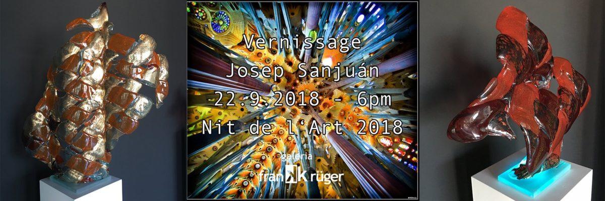 Vernissage / Josep Sanjuán Plá / Nit de l'Art 2018