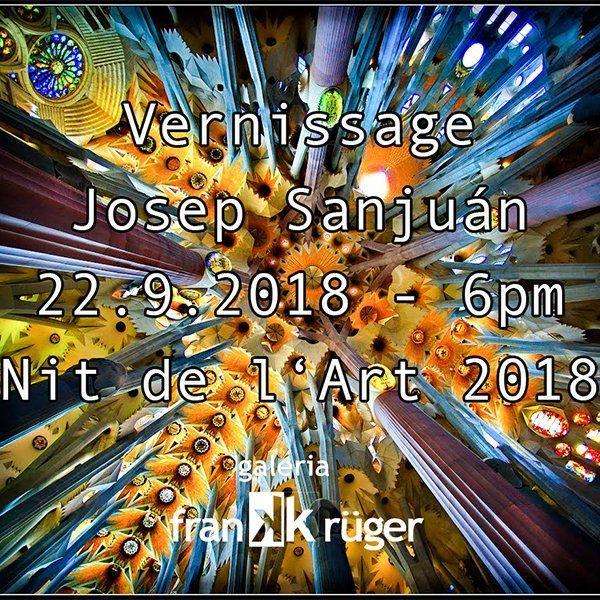 Vernissage / Josep Sanjuán / Nit de l'Art 2018